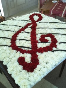 Custom design logos or symbols Funeral Flowers custom design Orangevale Florist